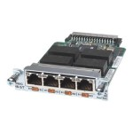 High-Speed 4-Port ISDN BRI S/T - Voice / fax module - HWIC - ISDN BRI ST - digital ports: 4 - refurbished - for  1841, 1841 3G, 1841 ADSL2, 1921 4-pair, 1921 ADSL2+, 19XX, 28XX, 29XX, 38XX, 39XX