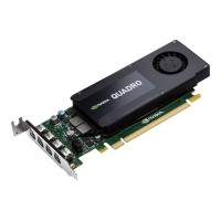 HP Inc. NVIDIA Quadro K1200 - Graphics card - Quadro K1200 - 4 GB GDDR5 - PCIe 2.0 x16 low profile - 4 x Mini DisplayPort T7T59AA
