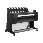 "HP Inc. DesignJet T930 - 36"" large-format printer - color - ink-jet - Roll (36 in x 300 ft), 36 in x 48 in - 2400 x 1200 dpi - up to 0.4 min/page (mono) / up to 0.4 min/page (color) - Gigabit LAN, USB 2.0 host L2Y22B#BCB"