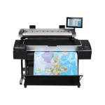 "DesignJet HD Pro MFP - 44"" multifunction printer - color - ink-jet - Roll (42.01 in) (original) - Roll (44 in x 300 ft), 44 in x 66 in (media) - up to 570.5 sq.ft/hour (printing) - 2 rolls - USB 2.0, Gigabit LAN"