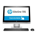 "HP Inc. EliteOne 705 G2 - All-in-one - 1 x A series A10 PRO-8750B / 3.6 GHz - RAM 8 GB - HDD 1 TB - DVD SuperMulti - Radeon R7 - GigE - WLAN: Bluetooth 4.0, 802.11a/b/g/n/ac - Win 7 Pro 64-bit - monitor: LED 23"" 1920 x 1080 ( Full HD ) touchscreen P5U98UT#ABA"