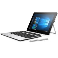 "HP Inc. Elite x2 1012 G1 - Tablet - with detachable keyboard - Core m5 6Y54 / 1.1 GHz - Win 10 Pro 64-bit - 8 GB RAM - 256 GB SSD - 12"" IPS touchscreen 1920 x 1280 - HD Graphics 515 - Wi-Fi, Bluetooth - with  Elite x2 1012 G1 Travel Keyboard W0S21UT#ABA"