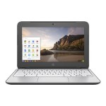 "HP Inc. Chromebook 11-2210nr - Celeron N2840 / 2.16 GHz - Chrome OS - 2 GB RAM - 16 GB eMMC - 11.6"" 1366 x 768 ( HD ) - HD Graphics - 802.11ac - anodized silver cover,  finish in gradient micro dot smoke silver N1C10UA#ABA"