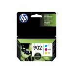 902 - 3-pack - yellow, cyan, magenta - original - blister - ink cartridge - for Officejet 6954, 6962; Officejet Pro 6974, 6975, 6979