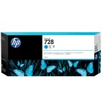 728 - 300 ml - cyan - original - DesignJet - ink cartridge - for DesignJet T730, T830