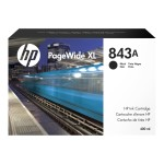 843A - 400 ml - black - original - PageWide XL - ink cartridge - for PageWide XL 4000, 4000 MFP, 4500, 4500 MFP, 5000, 5000 MFP