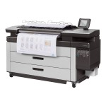 """PageWide XL 4500 - 40"""" large-format printer - color - ink-jet - Roll (4 in x 656 ft) - 1200 x 1200 dpi - up to 12 ppm (mono) / up to 12 ppm (color) - capacity: 2 rolls"""