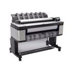 "DesignJet T3500 Production eMFP - 36"" multifunction printer - color - ink-jet - 35.98 in x 314.96 in, 24.02 in x 590.55 in (original) - 36 in x 48 in, Roll (36 in x 656 ft) (media) - up to 0.4 min/page (printing) - 2 rolls - Gigabit LAN, USB 2.0 host - go"