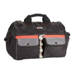 Builder's Tool Bag - Network tool case - gray, black, red