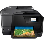Officejet Pro 8710 All-in-One - Multifunction printer - color - ink-jet - Legal (8.5 in x 14 in) (original) - A4/Legal (media) - up to 30 ppm (copying) - up to 35 ppm (printing) - 250 sheets - USB 2.0, LAN, Wi-Fi(n), USB host