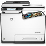 HP Inc. PageWide Pro 577dw - Multifunction printer - color - ink-jet - Legal (8.5 in x 14 in) (original) - A4/Legal (media) - up to 70 ppm (copying) - up to 70 ppm (printing) - 550 sheets - 33.6 Kbps - USB 2.0, LAN, Wi-Fi(n), NFC, USB 2.0 host D3Q21A#B1H