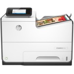 HP Inc. PageWide Pro 552dw - Printer - color - Duplex - page wide array - A4/Legal - 1200 x 1200 dpi - up to 70 ppm (mono) / up to 70 ppm (color) - capacity: 500 sheets - USB 2.0, LAN, Wi-Fi(n), NFC, USB 2.0 host D3Q17A#B1H