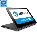 "x360 310 G2 - Flip design - Celeron N3050 / 1.6 GHz - Win 10 Pro 64-bit - 4 GB RAM - 128 GB SSD - 11.6"" IPS touchscreen 1366 x 768 (HD) - HD Graphics - Wi-Fi - ash silver keyboard - promo, K-12 education"