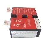 UPS battery - 1 x lead acid 9 Ah - for APC Back-UPS Pro 1300