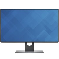 "Dell UltraSharp U2717D - LED monitor - 27"" (27"" viewable) - 2560 x 1440 QHD - IPS - 350 cd/m² - 1000:1 - 6 ms - HDMI (MHL), DisplayPort, Mini DisplayPort - black - for Latitude 7370, E5270, E5470, E5570; OptiPlex 3040; Venue 8 U2717D"