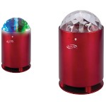 iLive Bluetooth Portable Speaker with Disco Lights