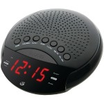 GPX Dual-Alarm AM/FM Clock Radio with LED Display C226B