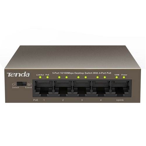 TEF1105P 5-port 10/100Mbps unmanaged switch