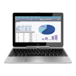 "EliteBook Revolve 810 G3 Tablet - Convertible - Core i3 5010U / 2.1 GHz - Win 7 Pro 64-bit (includes Win 10 Pro 64-bit License) - 4 GB RAM - 128 GB SSD - 11.6"" touchscreen 1366 x 768 (HD) - HD Graphics 5500 - NFC - kbd: US"