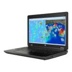 """ZBook 15 G2 Mobile Workstation - Core i7 4710MQ / 2.5 GHz - Win 7 Pro 64-bit (includes Win 8.1 Pro License) - 16 GB RAM - 1 TB HDD - DVD SuperMulti - 15.6"""" 1920 x 1080 (Full HD) - Quadro K2100M / HD Graphics 4600 - Wi-Fi - graphite, hematite - kbd: US"""