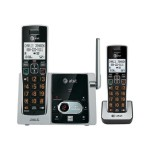 AT&T CL82213 - Cordless phone - answering system with caller ID/call waiting - DECT 6.0 + additional handset CL82213