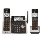 AT&T CL83213 - Cordless phone - answering system with caller ID/call waiting - DECT 6.0 + additional handset CL83213