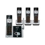 AT&T CL82413 - Cordless phone - answering system with caller ID/call waiting - DECT 6.0 + 3 additional handsets CL82413