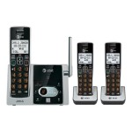 AT&T CL82313 - Cordless phone - answering system with caller ID/call waiting - DECT 6.0 + 2 additional handsets CL82313