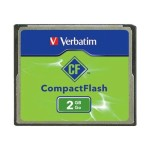 Verbatim CompactFlash 2GB Memory Card 47012
