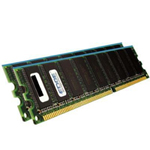 1GB (2 x 512MB) PC3200 Non-ECC Unbuffered DIMM Memory Upgrade Kit