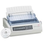 Microline 390 Turbo - Printer - monochrome - dot-matrix - 360 dpi - 24 pin - up to 390 char/sec - parallel - beige
