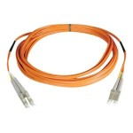 75ft Duplex Multimode 50/125 Fiber Optic Patch Cable LC-LC 25 meter