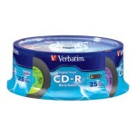 Verbatim Digital Vinyl CD-R 80 Minute 25-Pack Spindle 94488