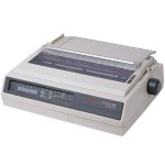 Microline 395 - Printer - monochrome - dot-matrix - Roll (16 in) - 360 dpi - 24 pin - up to 610 char/sec - parallel, serial - beige