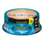 Maxell Pro - 25 x CD-R - 700 MB ( 80min ) 48x - spindle 648425
