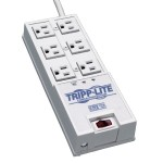 TrippLite 6 Outlet, 6-ft Cord, 2420 Joule Surge Suppressor TR6
