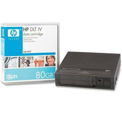 "HP 40 80GB 1 2"" 557m DLT IV Tape Cartridge"