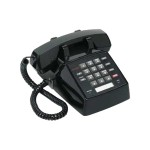 Avaya Lucent 2500 YMGP - Corded phone - single-line operation - black 108209057