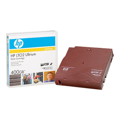 HP LTO-2 Ultrium 400GB Data Cartridge