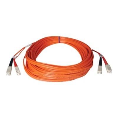 TrippLite165ft Duplex Multimode 50/125 Fiber Optic Patch Cable SC-SC 50 meter(N506-50M )