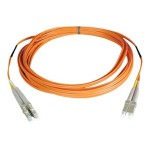 Duplex Multimode 50/125 Fiber Patch Cable (LC/LC), 2M (6-ft.)