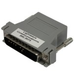 Serial adapter ( DTE ) - RJ-45 (M) to DB-25 (M) - for Secure Console Server SCS1600, SCS1620, SCS3200, SCS3205, SCS4805