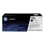 HP Inc. LaserJet Q2612A Black Print Cartridge Q2612A