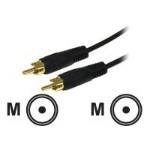 Value Series 6ft Value Series Mono RCA Audio Cable - Audio cable - RCA (M) to RCA (M) - 6 ft - shielded - black