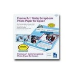 "Epson 12"" x 12"" PremierArt Matte Scrapbook Photo Paper - 10 Sheets SCR1003"