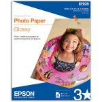 Letter A Size (8.5 in x 11 in) 20 sheet(s) photo paper - for Expression Home XP-434; WorkForce 1100, 610, WF-2520, 2530, 2540, 2750, 2760, 3540