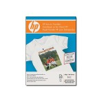 Iron-on Transfers for White and Light Color Fabrics - 8.5 x 11 in, 12 sheets