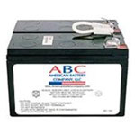 American Battery Company Replacement UPS Battery Cartridge#5 For APC UPS (SU450, SU450NET, SU700, SU700NET) - Black RBC5