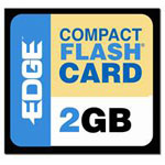 Edge Memory 2GB Premium CompactFlash card PE194529