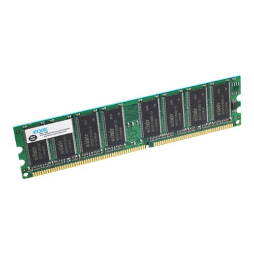 Edge Memory 1GB PC3200 400MHz 184-pin Non-ECC Unbuffered DDR SDRAM DIMM